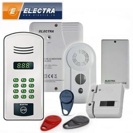 Kit interfon ELECTRA analogic 20 apartamente